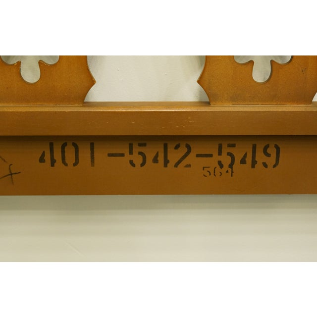 Wood 20th Century Spanish Drexel Furniture Esparanto Collection Queen Size Headboard For Sale - Image 7 of 8
