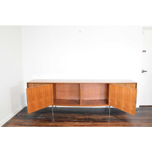 Metal 1960s African Mahogany Sideboard For Sale - Image 7 of 12