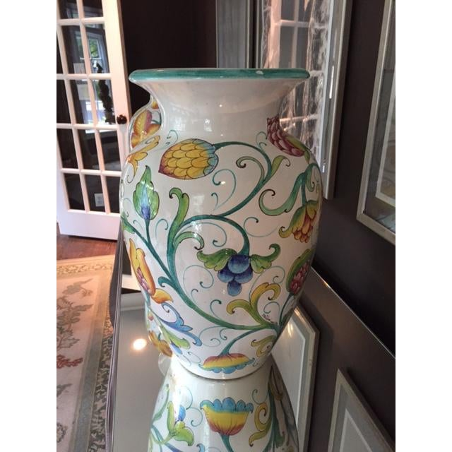 Colorful Italian Urns - A Pair - Image 4 of 4