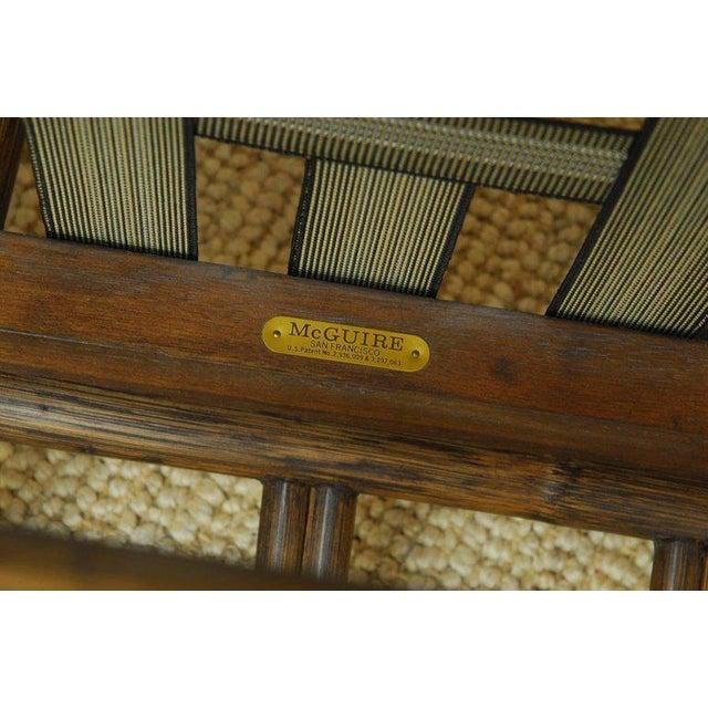 McGuire Organic Modern Bamboo Rattan Sofa For Sale - Image 11 of 13