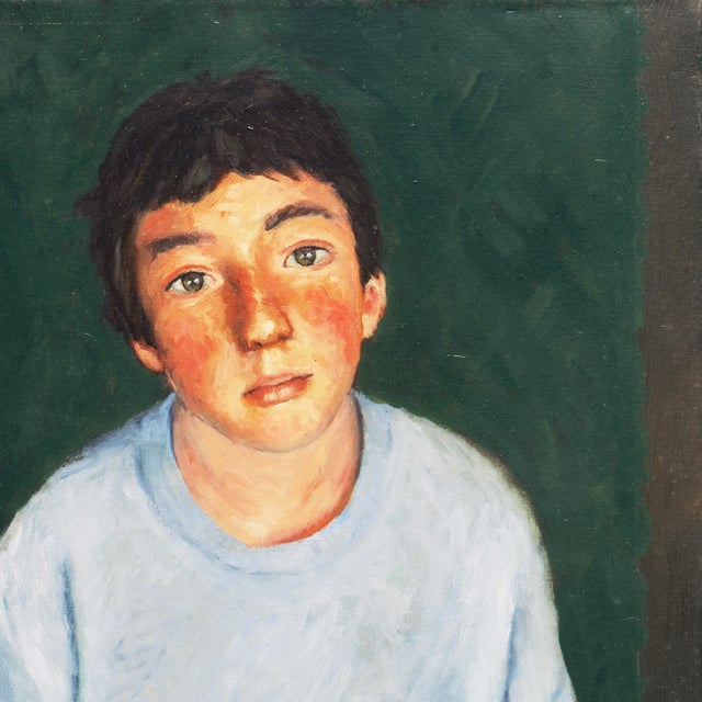 'Contemplative', 1990s, American School For Sale In Monterey, CA - Image 6 of 9