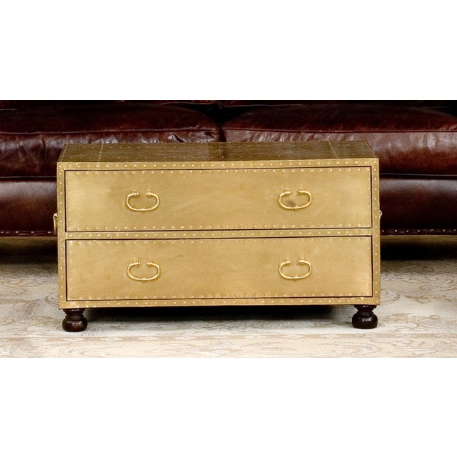 Sarried Ltd Brass Chest Ca. 1970 - Image 2 of 2