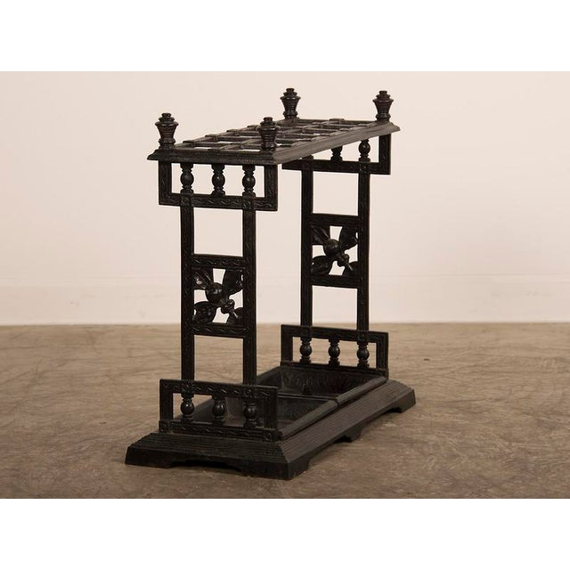 Modern Cast Iron Umbrella/Cane Stand, England C.1850 For Sale - Image 3 of 10