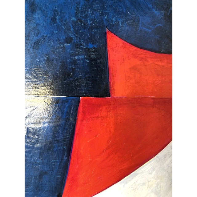 """2010s Original Painting on Panel Titled: """"PDP598ct13"""""""" For Sale - Image 5 of 13"""
