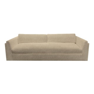 Repose Tan Sofa by the Drawing Room Atl For Sale