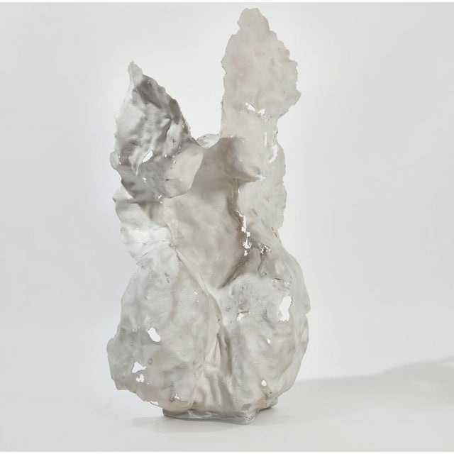 Abstract Mid 20th Century Abstract Figurative Sculpture Attributed to Masatoyo Kishi (Kuki) For Sale - Image 3 of 3