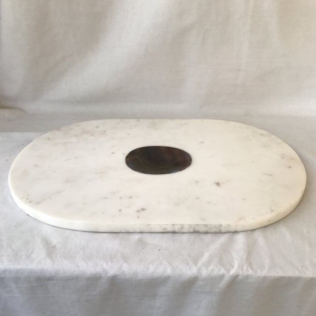 Mid 20th Century Vintage Stone Accented Kitchen Board For Sale - Image 5 of 6