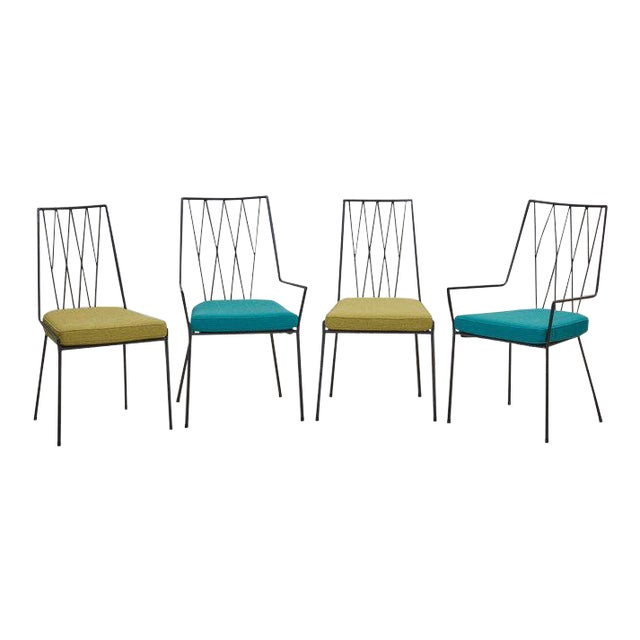 Set of Four Paul McCobb Pavilion Collection Chairs for Arbuck, Usa, 1953 For Sale