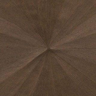 Sample, Ajiro Sunburst Wood Veneer: Cacao Luster- Wood Veneer Wallcovering For Sale
