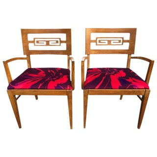1950s Mid-Century Modern Heywood-Wakefield Co. Armchairs - a Pair For Sale