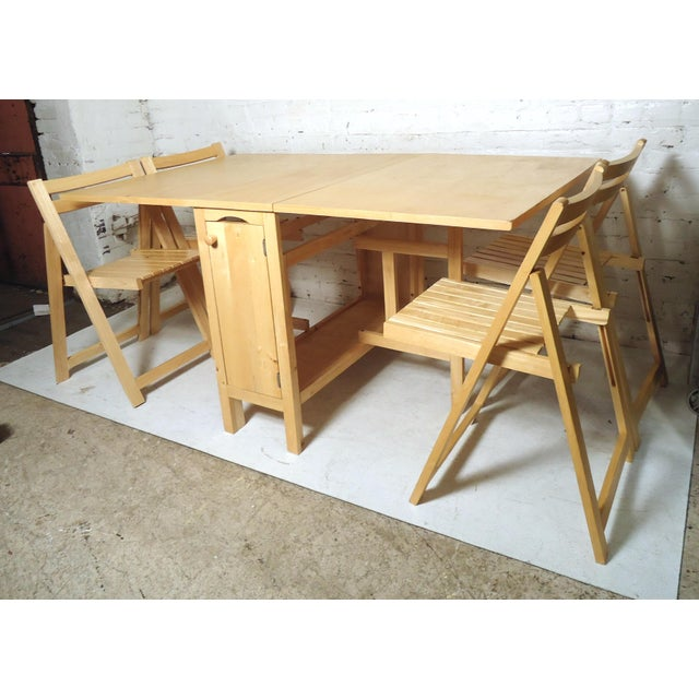 Mid-Century Modern Mid-Century Modern Drop Leaf Table For Sale - Image 3 of 9