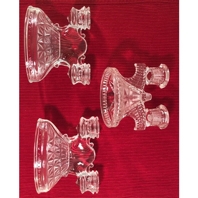Art Deco Candle Holders - Set of 3 - Image 3 of 9