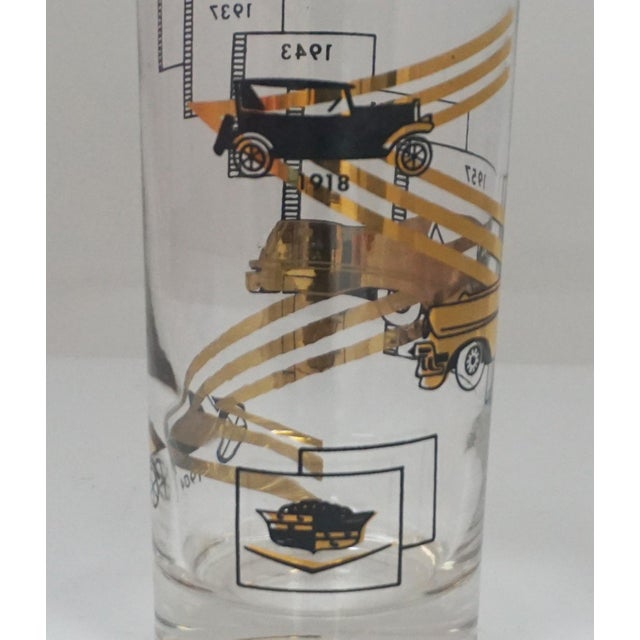Cadillac Cocktail Glasses For Sale - Image 4 of 7