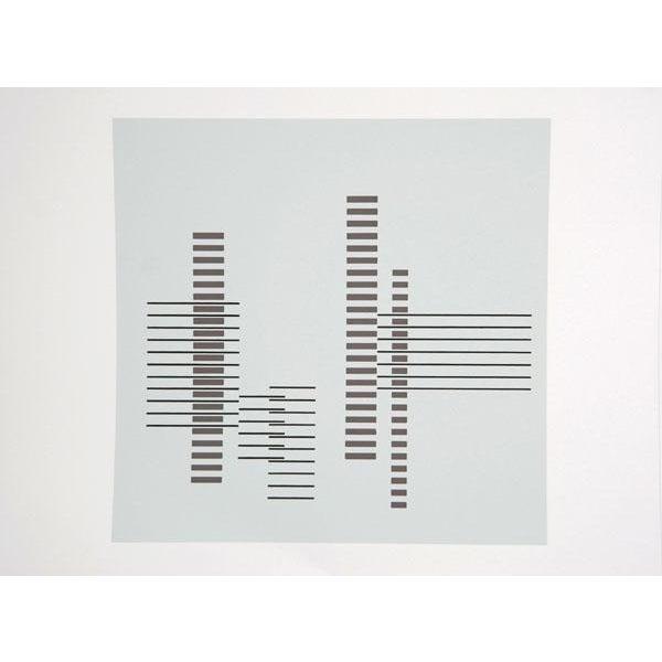 "Josef Albers ""Portfolio 1, Folder 21, Image 1"" Print - Image 1 of 3"