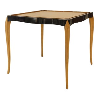 1930s French Sycamore Game Table For Sale