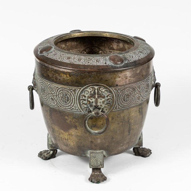 Traditional Brass Pot For Sale - Image 3 of 6