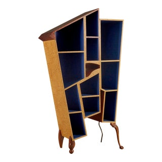 One-Of-A-Kind Studio Made Bookshelf by Gary Wolfe For Sale