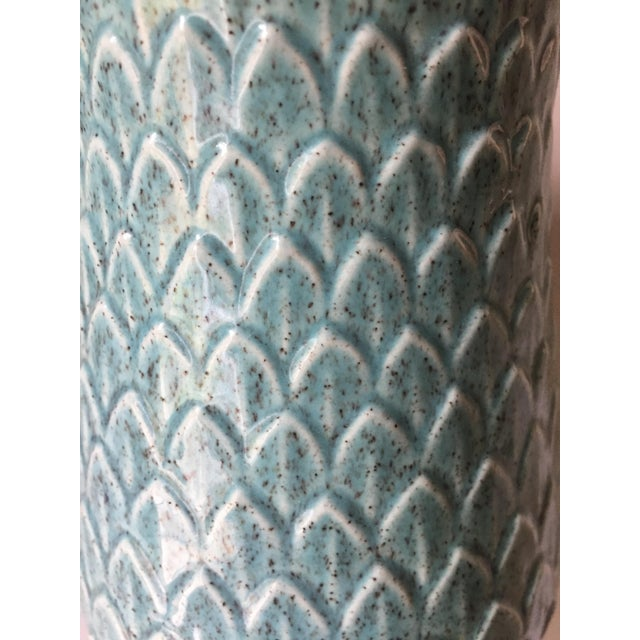 Red Wing Pottery Red Wing Mid Century Vase For Sale - Image 4 of 5