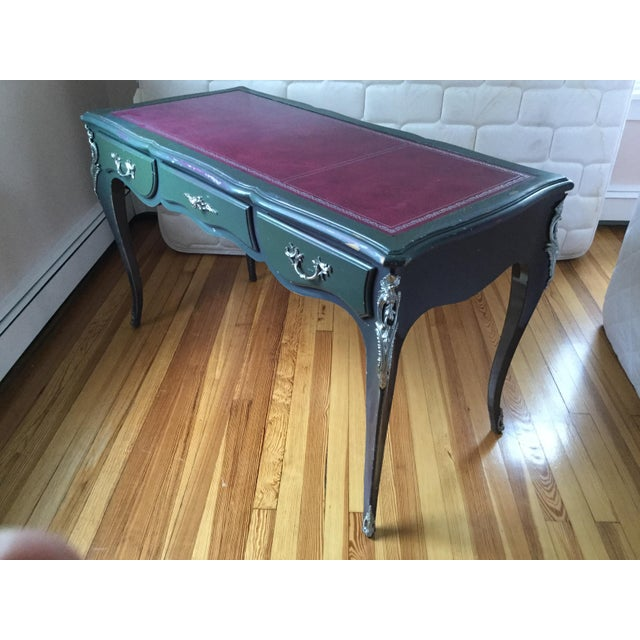 Louis XV Style Painted Desk For Sale In New York - Image 6 of 12