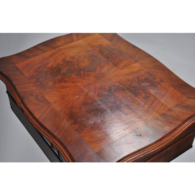 Antique Victorian Sewing Stand Side Table For Sale In Philadelphia - Image 6 of 12