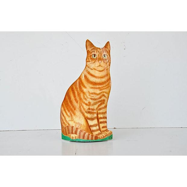 Piero Fornasetti Painted Lightograph Cat Waste Bin - Image 2 of 6
