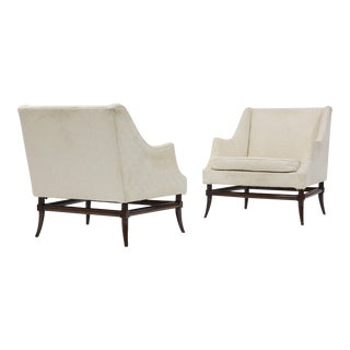 Pair of Lounge Chairs Attributed to Tommi Parzinger For Sale