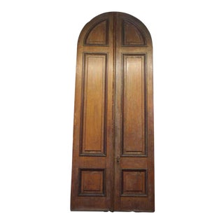 Arched Entry Double Doors - A Pair