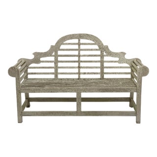 Lutyens Style Teak Garden Bench Seats from England For Sale