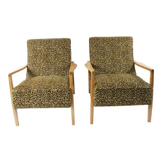 1960s Mid Century Modern Lounge Chairs - a Pair For Sale