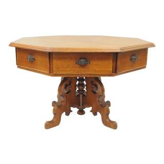 Eastlake Victorian Spool Cabinet For Sale