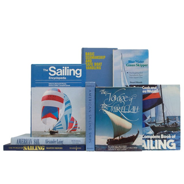 Vintage Sky Sailing Books - Set of 20 For Sale - Image 4 of 4