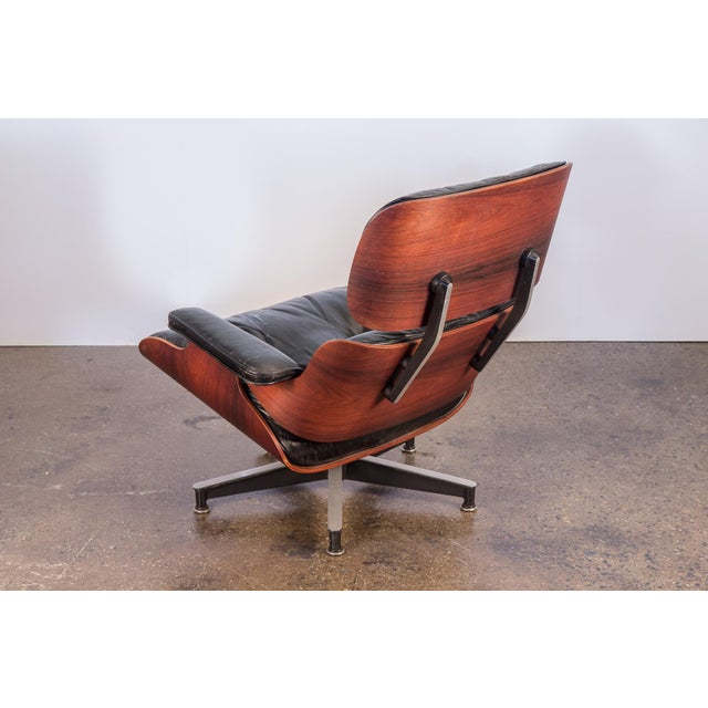 Animal Skin Second Generation 1960s Eames 670 Lounge Chair for Herman Miller For Sale - Image 7 of 11