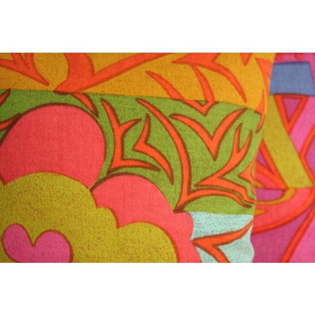 1960s Mid-Century Modern Jack Lenor Larsen Pillow Anthony Ballatore Design Accent Pillow For Sale - Image 5 of 11