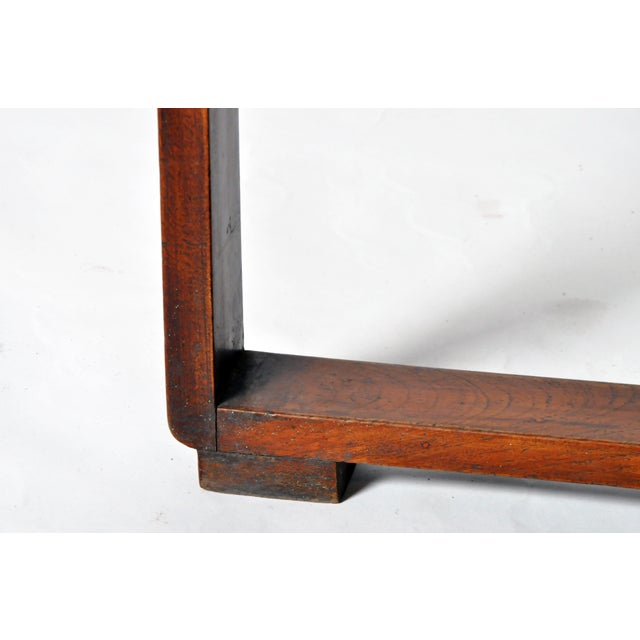 Teak Art Deco Low Table For Sale - Image 7 of 11