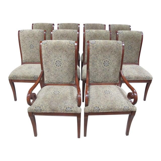 Drexel Heritage Dining Room Set: Drexel Heritage Dining Chairs - Set Of 10