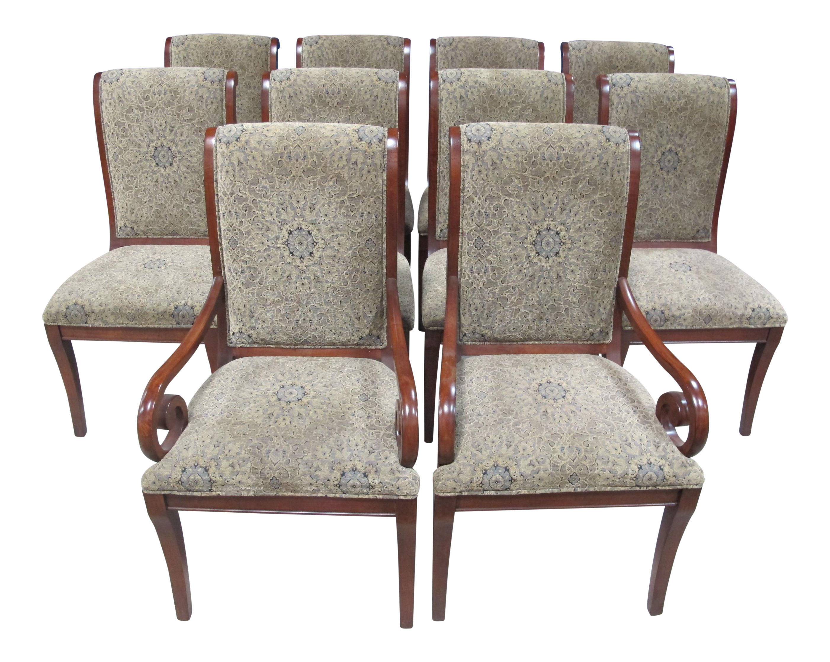 Drexel Heritage Dining Chairs   Set Of 10 For Sale