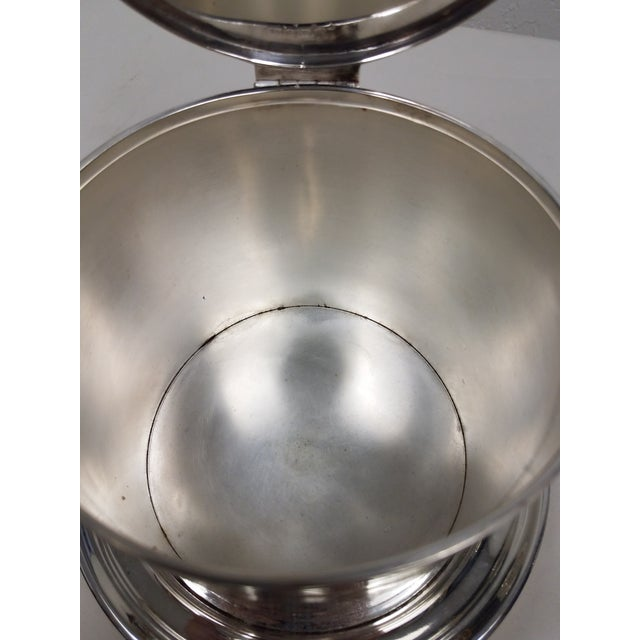 English Antique English Silverplate Biscuit Container - Elkington For Sale - Image 3 of 8