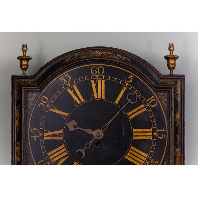 Asian T. Green: Tavern Clock with an 8-day Timepiece Movement For Sale - Image 3 of 6