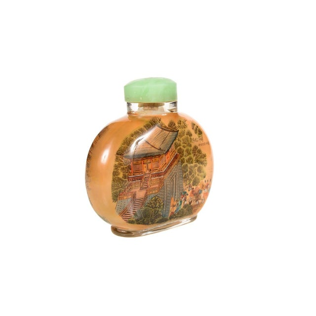 Chinese Reverse-Painted Snuff Bottle For Sale In Los Angeles - Image 6 of 9