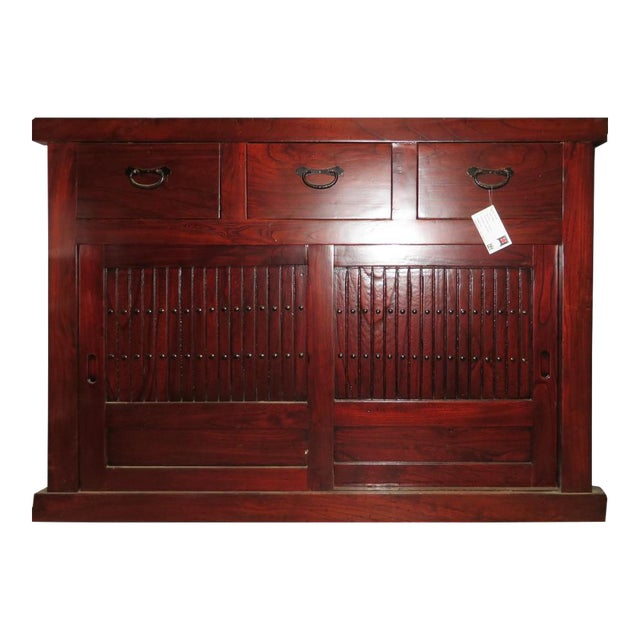 Chinese Tansu Sideboard For Sale