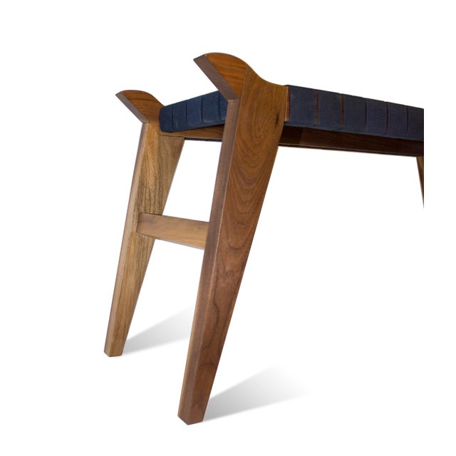 This is a gorgeous Viking-inspired Fine Furniture piece by WOODCEPTUAL Design/Build named 'Arvid the Long'. This bench is...