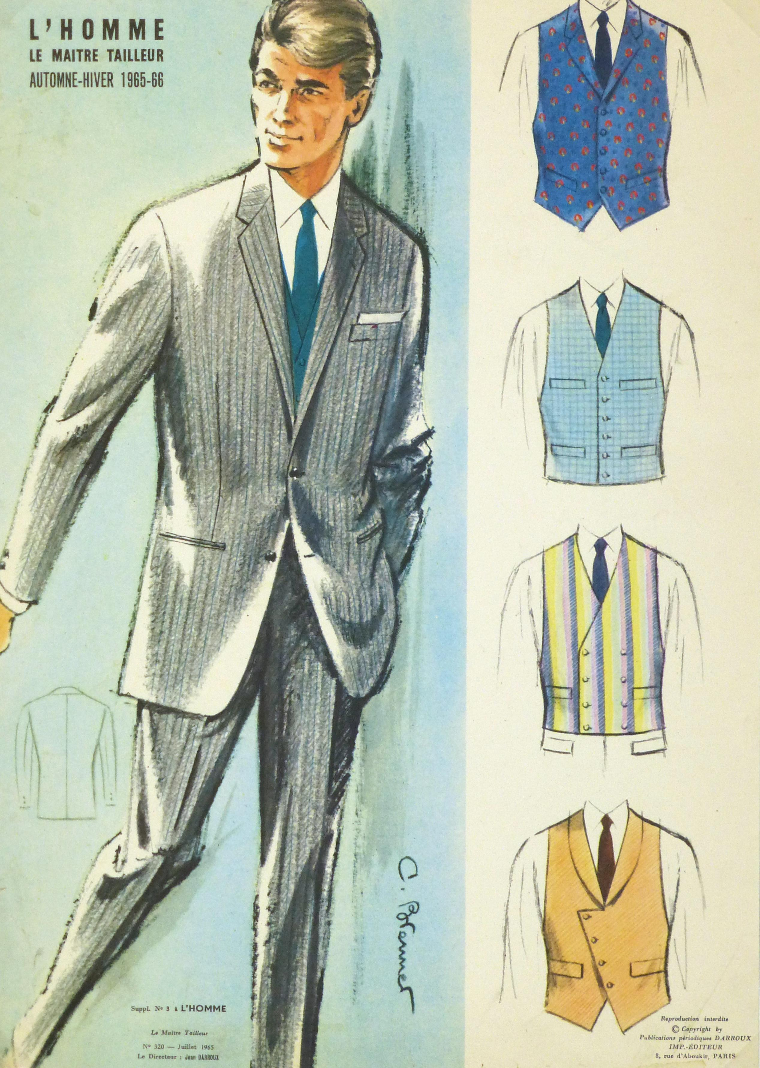 Vintage Men S Suit Advertisement 1965 Chairish