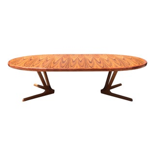 Interform Collection Style Teak Oval Dining Table
