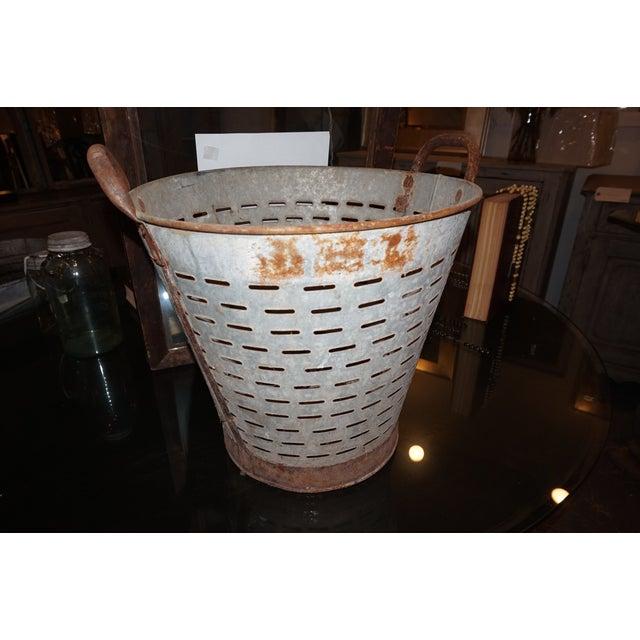 Vintage Metal Olive Bucket - Image 3 of 5