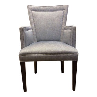 Hickory Chair Flare Back Arm Chair For Sale