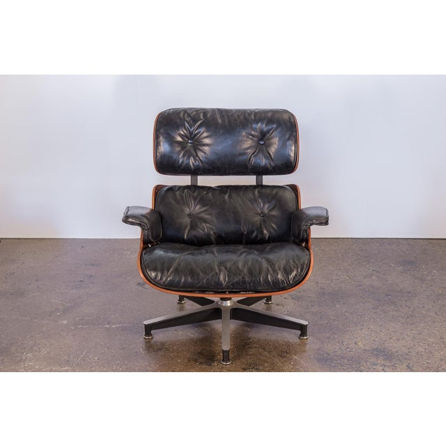 Herman Miller Second Generation 1960s Eames 670 Lounge Chair for Herman Miller For Sale - Image 4 of 11