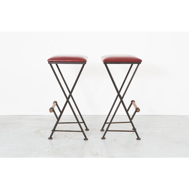 Set of Cleo Baldon Stools For Sale In Chicago - Image 6 of 11