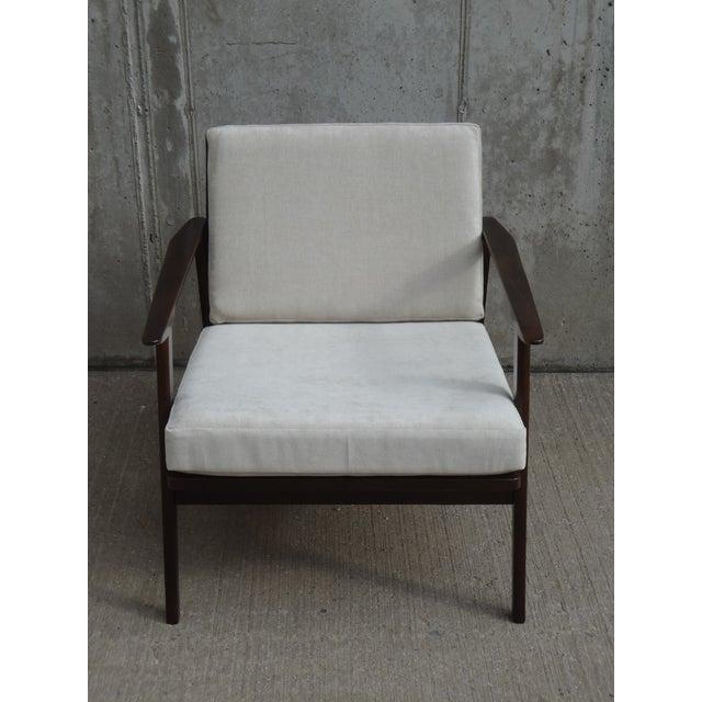 Restored Danish Modern Style Armchair - Image 4 of 11