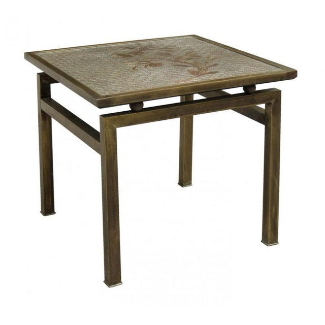 Campaign Philip and Kelvin LaVerne, Occasional Low Table, Usa, 1960s For Sale - Image 3 of 4