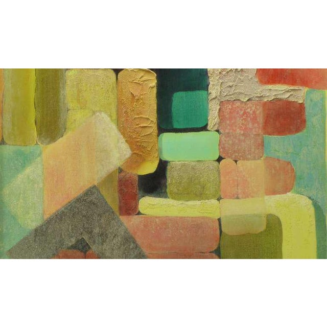 Abstract Relief Cubist Inspired Mixed Media on Canvas For Sale In Chicago - Image 6 of 8